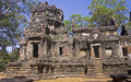 One of the temples in the area of ​​angkor wat cambodgia Stock Photos