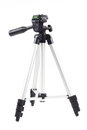 one tripod isolated on white Royalty Free Stock Photo