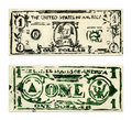 One US Dollar Stock Image
