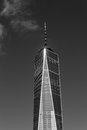 One World Trade Center in the financial district of NYC Royalty Free Stock Photo