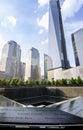 One World Trade Center, Ground Zero Memorial Royalty Free Stock Photo