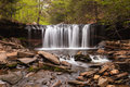 Oneida falls ricketts glen pennsylvania on kitchen creek can be found in ganoga along the trail at state park near red rock Stock Photo