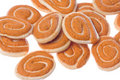 Onion Biscuits Isolated Stock Images