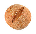 Onion Bread With Sesame Seeds Royalty Free Stock Image