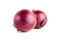 Onion  over white Royalty Free Stock Photo
