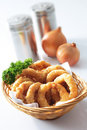 Onion ring Royalty Free Stock Photography