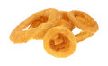 Onion Rings Group on White Royalty Free Stock Photo