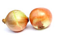Onions white background Stock Photos