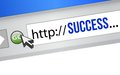 Online Business Success Stock Photo