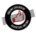 Online Exclusive rubber stamp