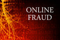 Online Fraud Abstract Royalty Free Stock Photos