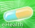 Online Medicine Stock Photo