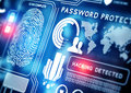 Stock Photography Online Security Technology