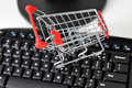 Online-shopping Royaltyfria Foton