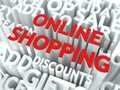 Online Shopping Concept. Stock Photos