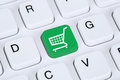 Online shopping e-commerce internet shop concept Royalty Free Stock Photo