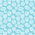 Online shopping goods icons retail seamless pattern e-commerce online store background vector illustration.