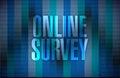 online survey illustration design