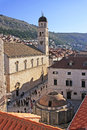 Onofrio s fountain old town of dubrovnik croatia Royalty Free Stock Photo