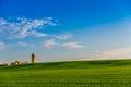 Ontario Farm Land Royalty Free Stock Photo