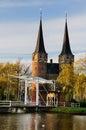 Oostpoort, Delft Royalty Free Stock Photo