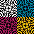 Op Art Pattern #1 Stock Images