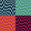 Op Art Pattern #4 Stock Photo