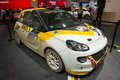 Opel adam race edition frankfurt international motor show iaa Royalty Free Stock Photo