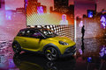 Opel adam rocks at the geneva motor show on display during switzerland march Stock Photography