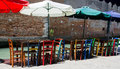 Open air restaurant in Venice, Italy Stock Photos