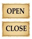 Open&close Foto de archivo libre de regalías