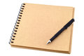 Open blank note book Royalty Free Stock Image