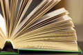 Open book close-up Royalty Free Stock Photo
