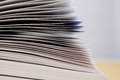 Open book pages detail Royalty Free Stock Photo
