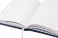 Open book on a white background Royalty Free Stock Image