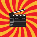 Open clapboard Stock Photos