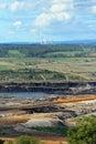 Open Cut Coal Mine Royalty Free Stock Photo