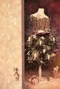 Open Door Into Christmas Royalty Free Stock Photo