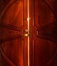Open door light Royalty Free Stock Photo