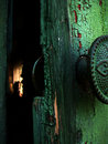 Open door mystery Royalty Free Stock Images