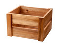 Open Ended Wooden Crate Royalty Free Stock Photo