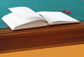 Open guestbook Royalty Free Stock Photo