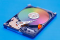 Open HDD storage device Royalty Free Stock Photos
