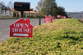 Open House Signs Royalty Free Stock Images