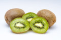 Open kiwis Royalty Free Stock Photo