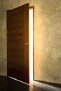 Open light door Royalty Free Stock Photo