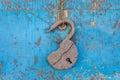 Open lock Royalty Free Stock Photo