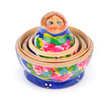 Open matreshka doll Royalty Free Stock Photography