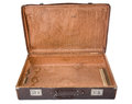 Open old suitcase Royalty Free Stock Photo