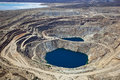 Open Pit Copper Mine Royalty Free Stock Photo